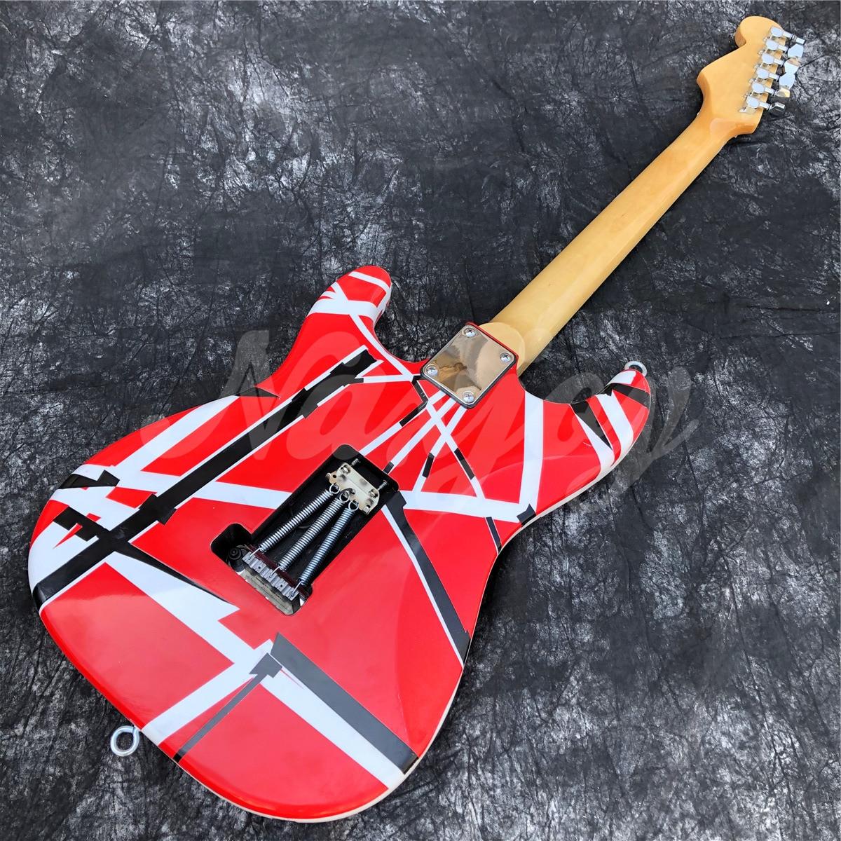 2021 New Eddie Van Halen TRIBUTE,Electric Guitar Frankenstein, Frankenstrat Quality Musical Instruments. enlarge