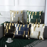 qifu pillow case boho pillowcase sofa cushion cover home decor square decor pillow modern knitted pillow case with tassels