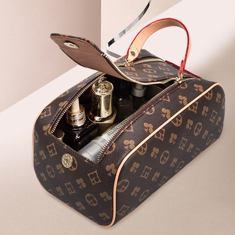 New Luxury Brand Cosmetic Bags Cases designer Women Makeup Bag  Hanging Bathroom Wash Bag Multifunctional Women's Handbags
