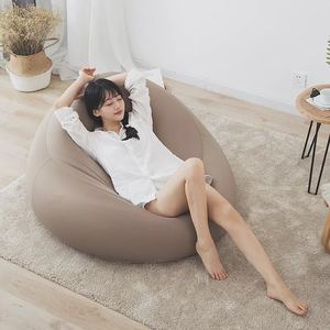 Large Small Lazy Sofa Cover Chairs Without Filler Stretch Fabric Unfilled Lounge Bean Bag Home Soft Lazy Sofa Tatami Living Room