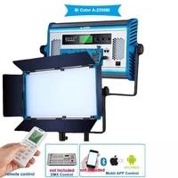 yidoblo a 2200bi lcd display pro led lamp soft light bio color led panel light for photography lamp app remote control set