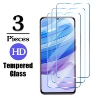 3pcs tempered glass for redmi note 10 9 pro max 10s 9s film protection on the for xiaomi xiamoi redmi redme 9 9a safety glass 9h