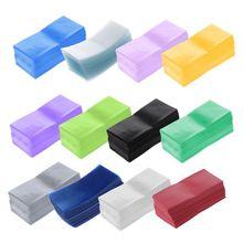 100 Stks/zak 18650 Lithium Batterij Inkapseling Buis Pvc Krimpkous Wrap Batterij Cover Skin Isolatie Film 634A