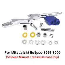 Breve Breve Coperte E Plaid Cambio Per Mitsubishi 95-99 4G63 ECLIPSE GSX GST GS DSM RS Manuale Breve Breve Shifter