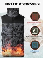 outdoor heating vest men and women usb electric heated clothes carbon fiber heating clothes droshipping