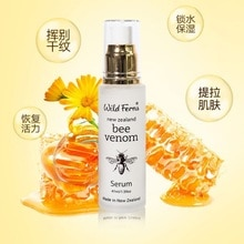 NewZealand Parrs Bee Venom Serum 47ml Active Manuka Honey Face Care Collagen Fine Lines Wrinkles Boost Skin Vitality Radiance