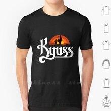 Kyuss Band T Shirt 6Xl Cotton Big Size Kyuss Music D D Welcome To Sky Valley Kyuss Josh Homme John Garcia Brant Bjork Nick