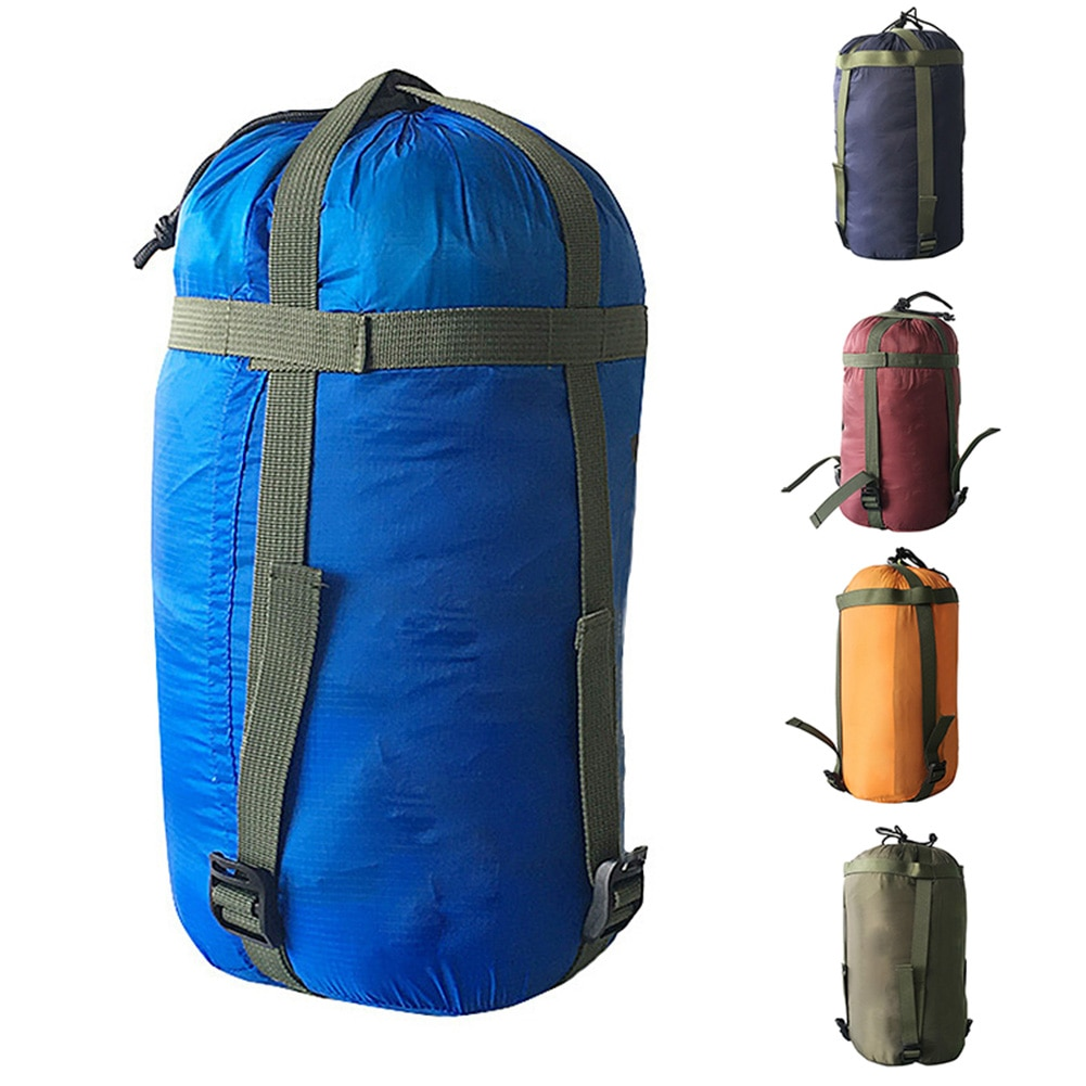 Waterproof Compression Stuff Sack Outdoor Camping Sleeping Bag Storage Bag