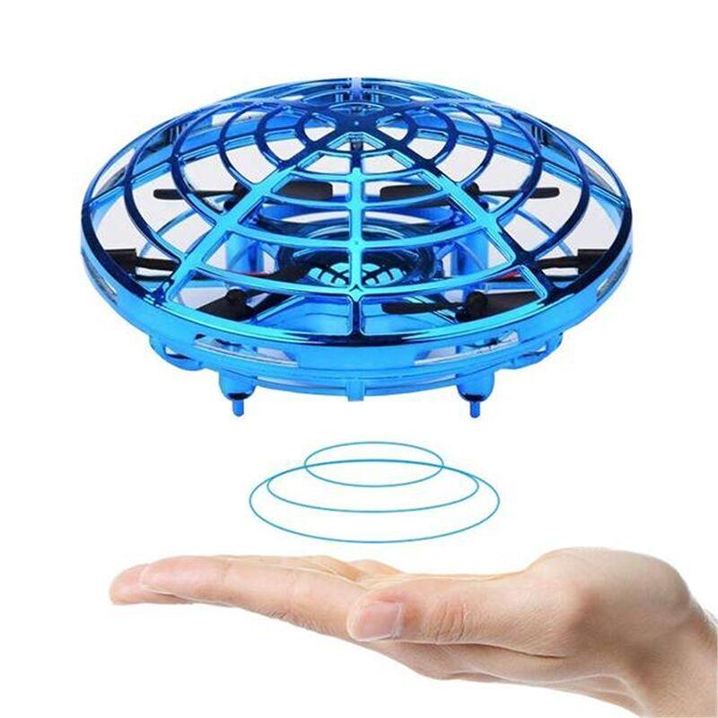 Мини Радиоуправляемый Дрон НЛО самолет с ручным зондированием Инфракрасный Радиоуправляемый вертолет маленький Дрон Квадрокоптер электронная индукция flayaball детские игрушки