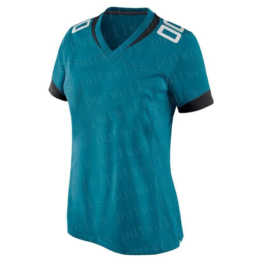 Женская футболка с вышивкой Джексонвилл, американский футбол, MINSHEW, RAMSEY, CHAISSON, Фолс, Лоуренс, спортивные футболки под заказ для фанатов