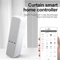 tuyasmart life app wifi blind driver with battery roller shade roman blind motor alexa google assistant voice control diy chain