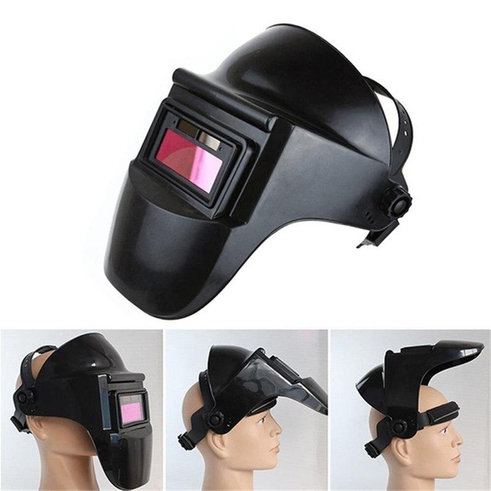 Máscara de casco de soldadura Solar oscurecimiento automático casco de soldadura sombra ajustable para equipo de soldadura 40FM14