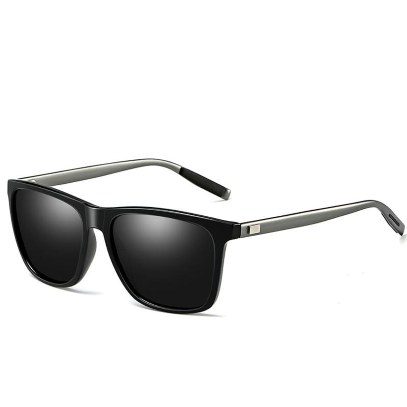 2020 новые модные квадратные мужские и женские поляризационные солнцезащитные очки UV400 Мужские очки классические ретро брендовые дизайнерские солнцезащитные очки для вождения