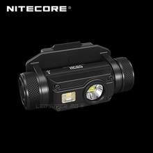 USB Rechargeable NITECORE HC65M 1000 Lumens Headlamp Triple Output Tactical Helmet Light with NVG Mount & NL1834 3400mAh Battery