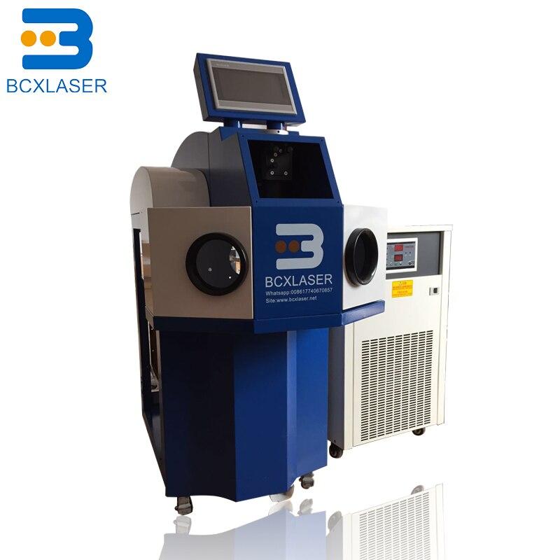 Alta Precisión gran oferta 100W 200W equipo para goldsmiths punto láser soldadura joyería máquina de soldadura láser