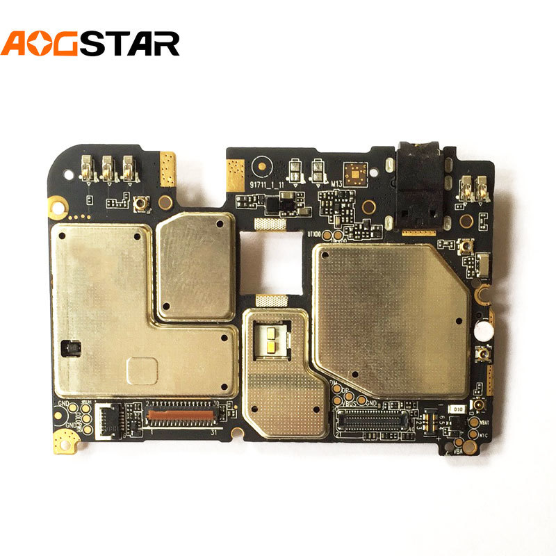 Aogstar المحمول الإلكترونية لوحة اللوحة اللوحة مقفلة مع رقائق الدوائر فليكس كابل ل Meizu Meilan 6 M6 3GB