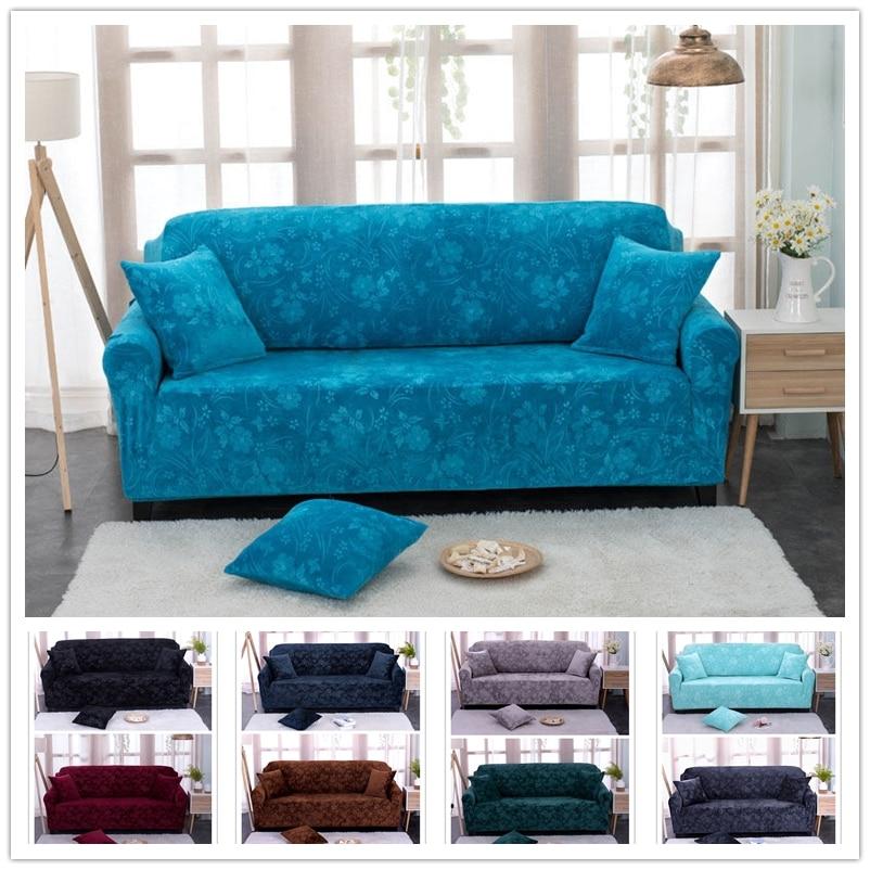 Claroom funda de sofá de lujo fundas de sofá de franela para sala de estar funda caliente de invierno para sofá SF56 #