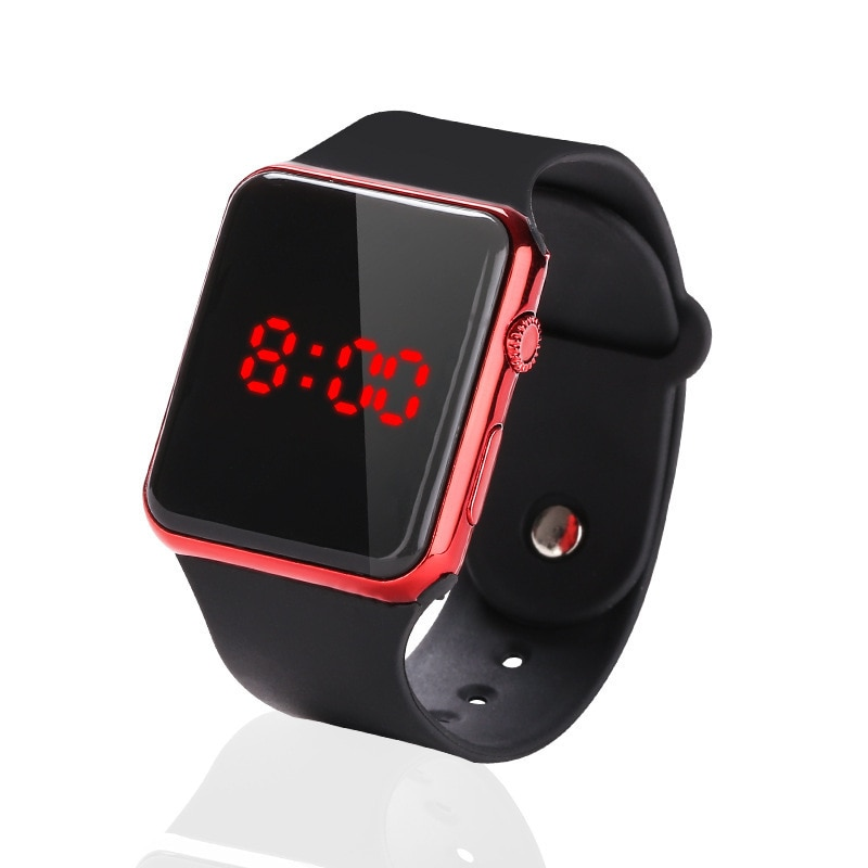 2021 New Style LED Creative Simple Sports Fashion Trend Casual Male and Female Student Electronic Watch