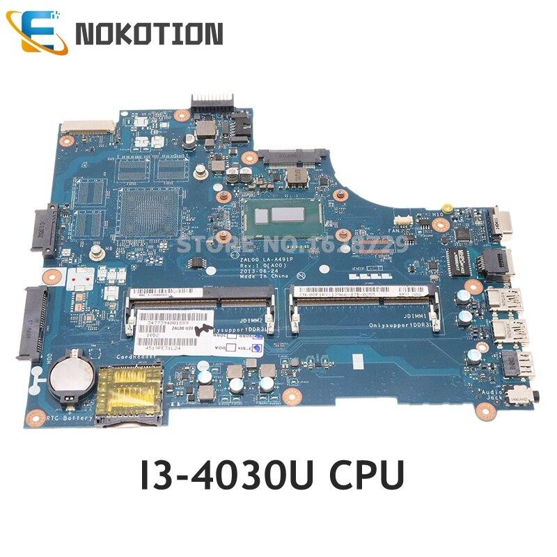 NOKOTION CN-08P1RY 08P1RY 8P1RY Dell Latitude 3540 laptop anakart SR1EN I3-4030U ZAL00 LA-A491P ana kurulu