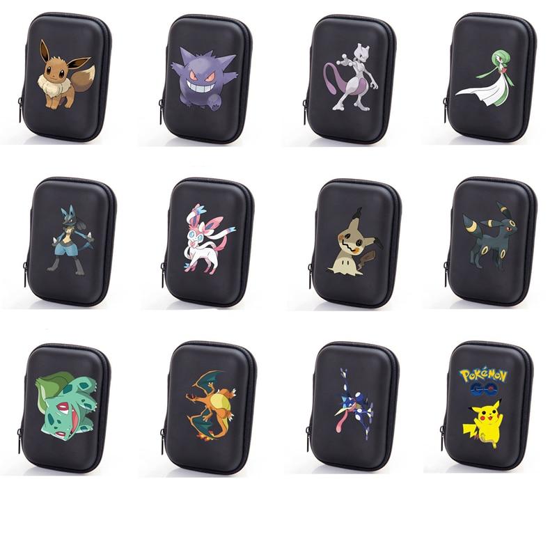 Покемон Томи TCG сумка для хранения карт покемон Покемон игра Покемон карточная коробка для хранения Топ загруженный список игрушек 50 шт. Емк...