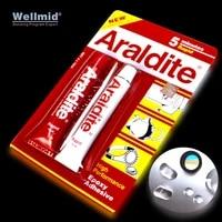 araldite 2%c3%9715ml fast ab glue bonding metal wood ceramics repair furniture jewelr 5 minutes rapid high performance epoxy adhesive