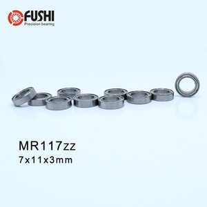 MR117ZZ ABEC-1 (50PCS) 7X11X3mm Miniature Ball Bearings L1170ZZ