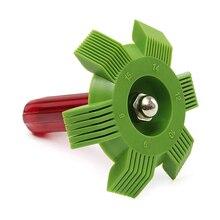 Universal Car A/C radiador condensador evaporador aleta enderezador peine para bobina para sistema de refrigeración para automóvil herramienta