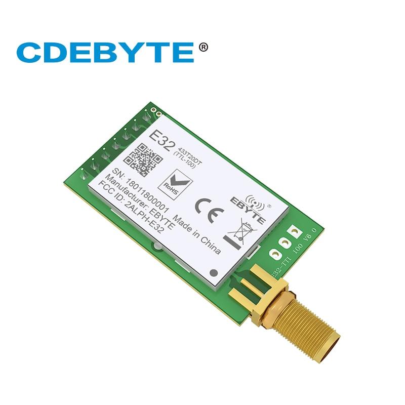 Ebyte E32-433T20DT LoRa SX1278 433 МГц 20dBm 100 мВт IoT 3 км длинный диапазон IoT беспроводной модуль