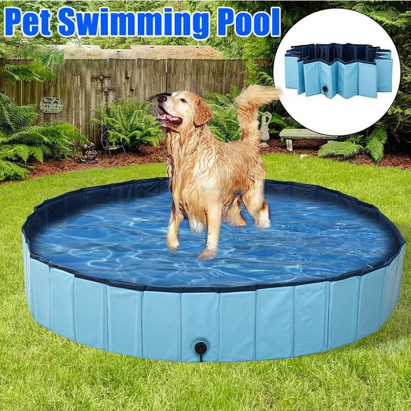 Piscina plegable para perros, piscina para perros, Baño de mascotas, bañera para mascotas, piscina plegable para perros, gatos, suministros para mascotas