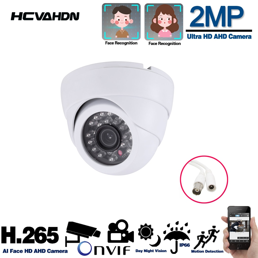 mini camera cctv 360 degree lens 2mp sony imx323 metal dome vandalproof ahd indoor dome surveillance cameras AHD Outside Camera Security Home Mini Analog Camera Indoor Outdoor Dome CCTV Surveillance Cameras Infrared Night Vision 1080p