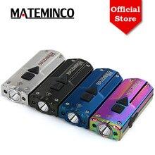 Mateminco CSF02 Mini Keychain USB Rechargeable LED Flashlight with 365nm UV LED & Red LED