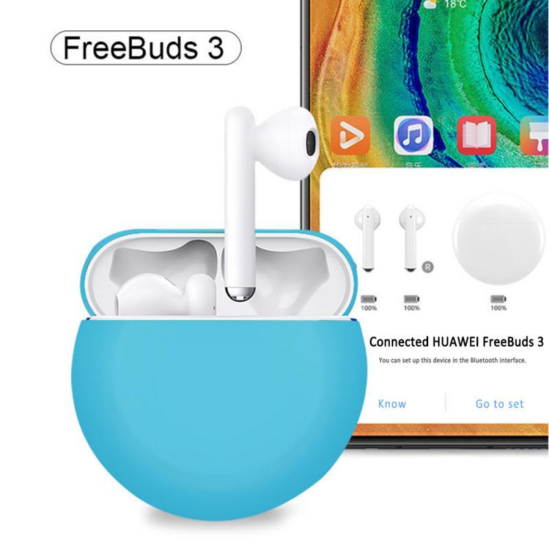 Lote de Auriculares de silicona, funda protectora Para Huawei Freebuds 3, Accesorios...