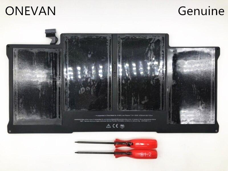 ONEVAN-بطارية كمبيوتر محمول مقاس 13 بوصة ، 7.3 فولت ، 50 واط ، A1405 ، لأجهزة Apple Macbook Air ، A1405 ، A1377 ، A1369 ، أواخر 2010 ، منتصف 2011 ، 2013 ، أوائل 2014 ، 2015