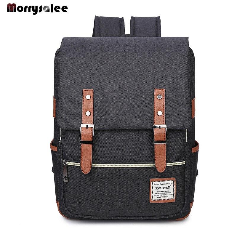 Модный рюкзак для ноутбука, мужские холщовые сумки, мужские холщовые дорожные сумки высокого качества, школьные сумки для студентов