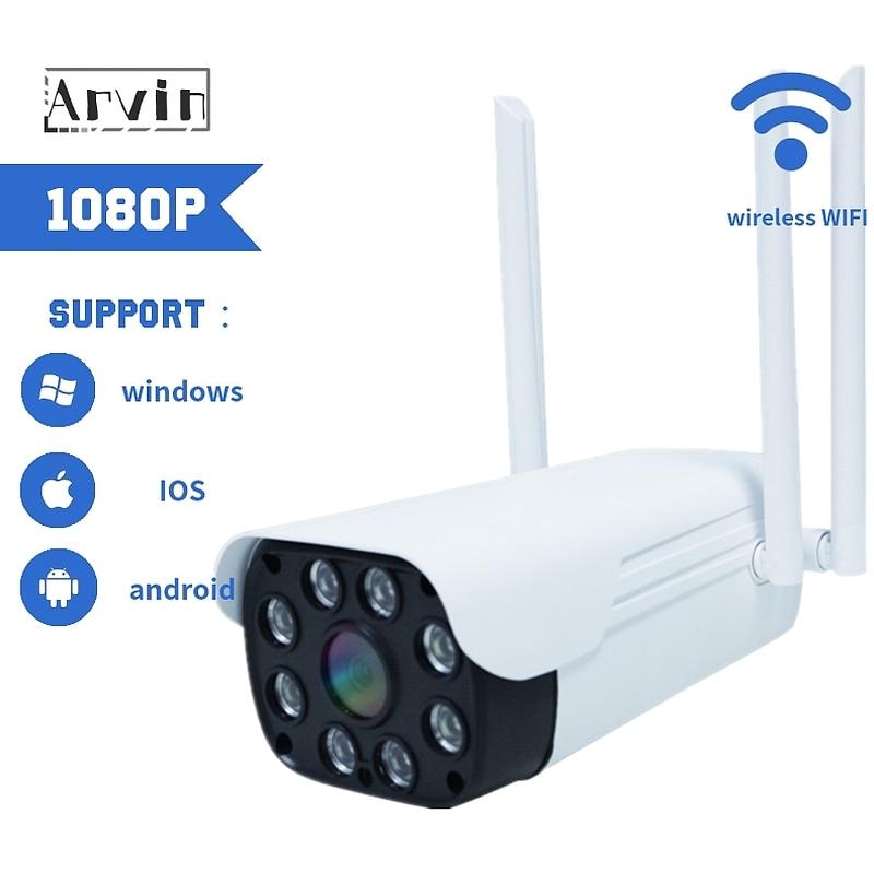 Cámara Cctv impermeable Visión Nocturna Exterior ONVIF, 1080P, cámara De Seguridad Ip,...