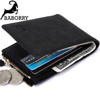 2021 new coin bag zipper men wallet wallets for men small money purses wallets new design top men thin wallet