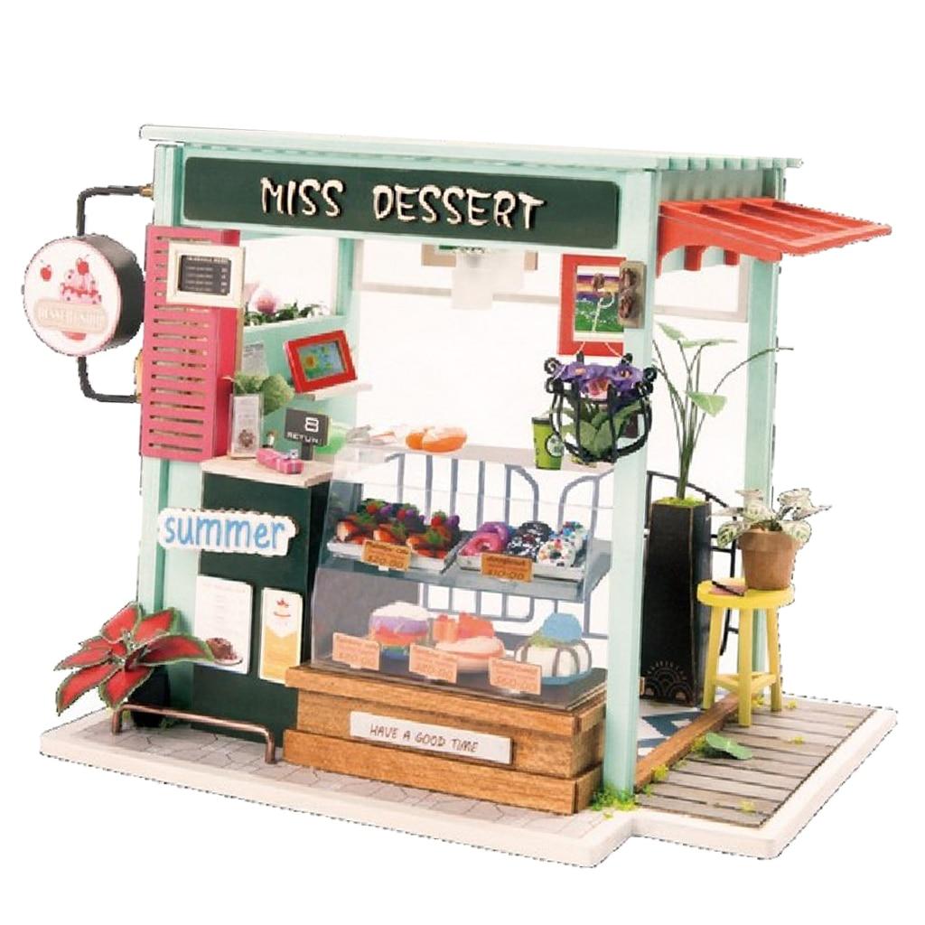 aliexpress.com - 1:24 DIY Wooden Dollhouse Miniature Kits @ just $11.77