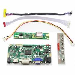 Latumab novo lcd led lvds controlador placa driver kit para LTN141W1-L04 hdmi + dvi vga 14.1 × × 1280 × 800 30 pinos
