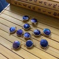 natural freshwater pearl black irregular round shape pendant diy making charm bracelet necklace decoration accessories wholesale