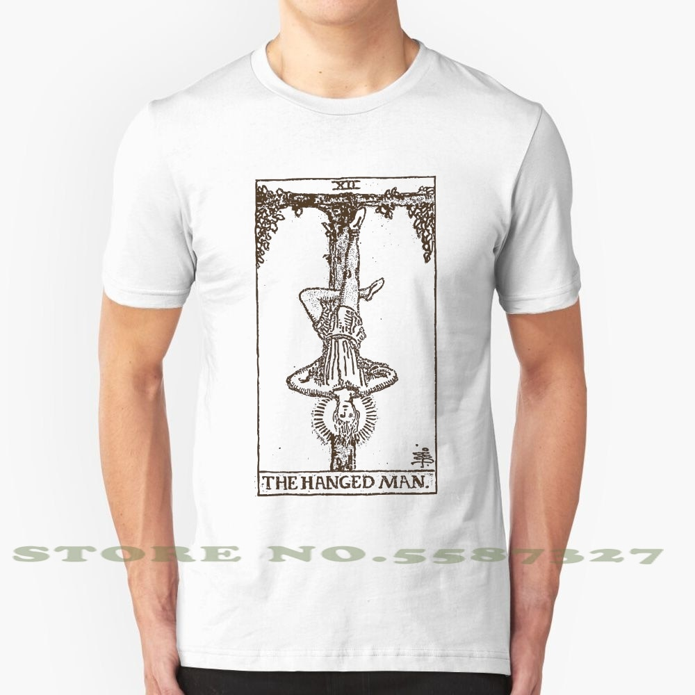 Camiseta Vintage de moda The Hanged Man, camisetas Tarot Hanged Man Hang Man Illuminati, mística ocultismo, bruja Wicca, espíritu pagano