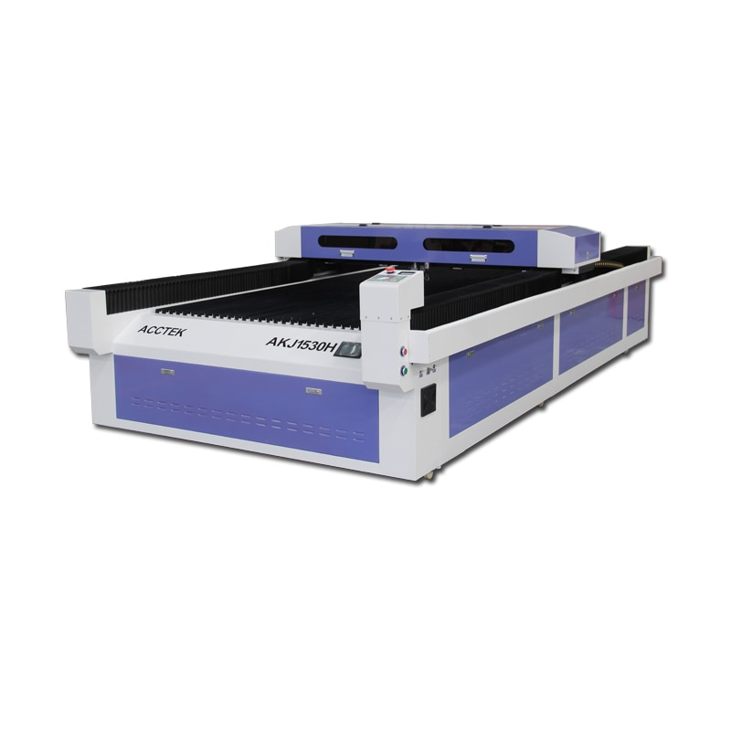 Станок для лазерной резки стали, промышленный станок для лазерной резки листового металла с ЧПУ, смешанный 1530