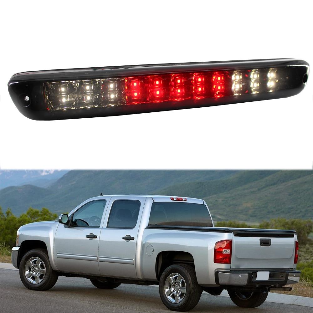 1 sztuk LED Cargo Cab 3RD światło końca hamulca hamulca działa lampka kierunkowskazu dla 04-12 Chevy Colorado gmc canyon dym Len D5