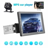 9 inch universal car contact screen mp5 player support mirror link fm steering wheel control with 4 led rear camera
