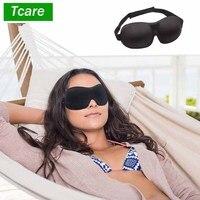 Модная 3D маска для сна Tcare, повязка на глаза для сна в путешествии, повязка на глаза для сна, повязки на глаза для создания абсолютной темноты,...