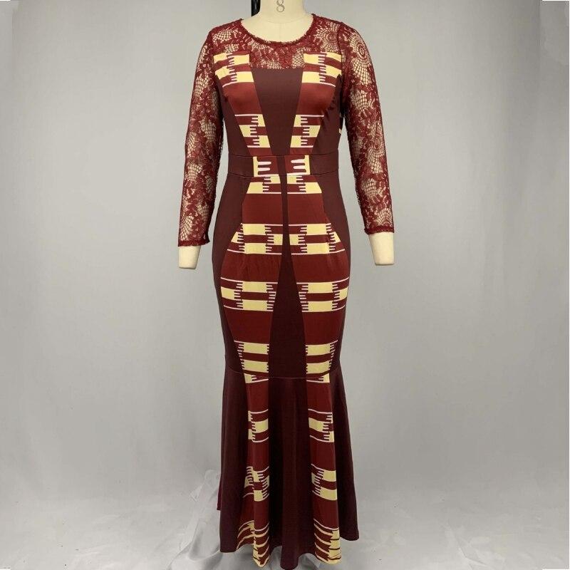 S-5XL Plus tamaño africanos vestidos para las mujeres 2020 africanos ropa africana de África de Dashiki, ropa de Ankara África vestido
