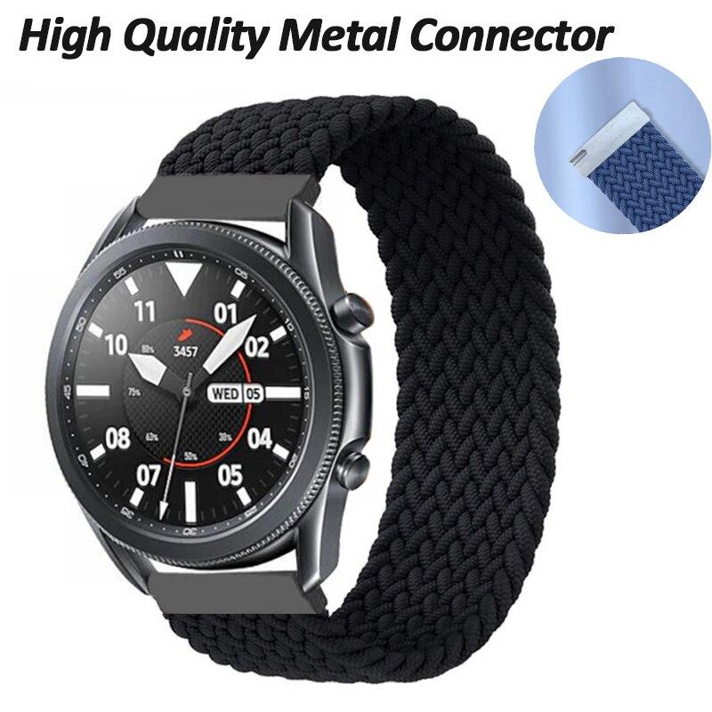 Correa de reloj de bucle único para Samsung Galaxy 3, 22mm, 20mm,...