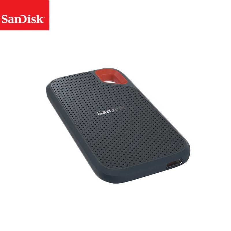 SanDisk-disco duro externo SSD, 1TB, 500GB, 550M, SSD, USB 3,1 HD, disco duro para ordenador portátil