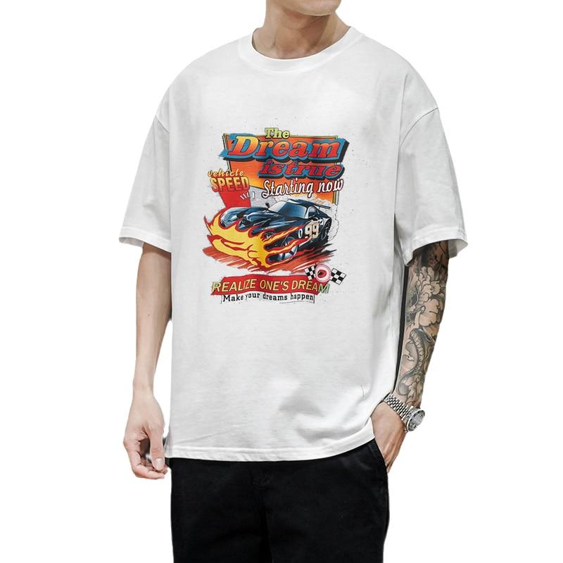 Camiseta con estampado de coches The Dream Is True Racing para hombre...
