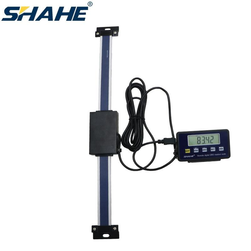 0-300 مللي متر مقياس خطي رقمي عن بعد مقياس خطي رقمي مع شاشة خارجية لقياس مخرطة الطحن