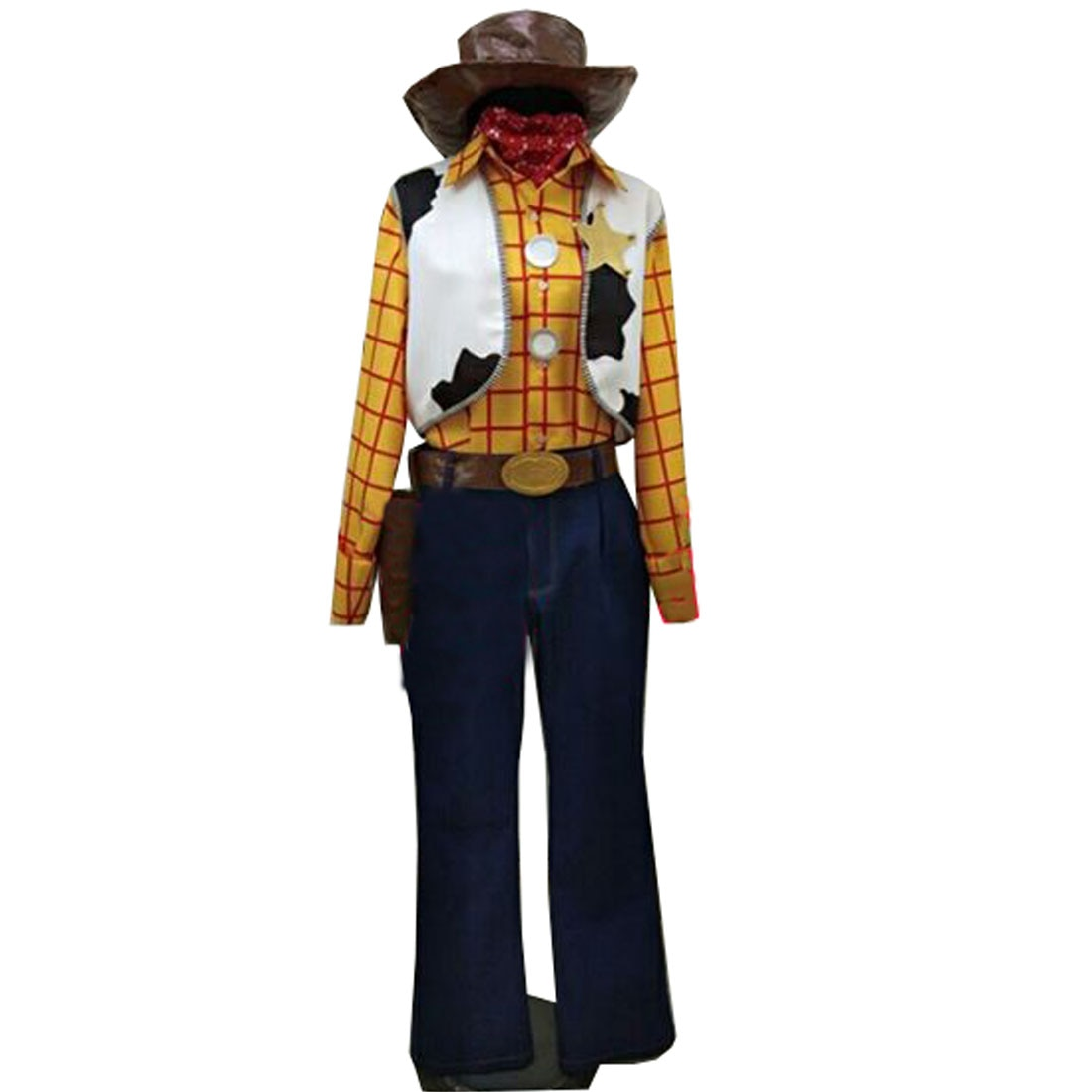 Disfraz de Toy Story 4 de Bo Peep, disfraz de Cosplay de la película de Anime de gran calidad, disfraz de Woody, disfraz de Halloween, 2019